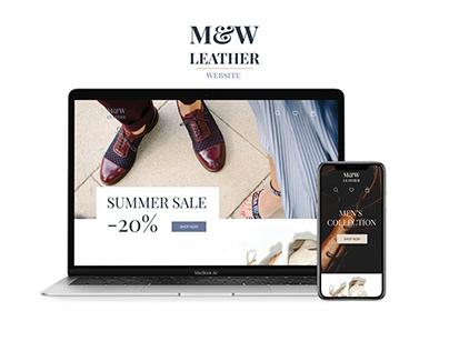 Website for online Shoe store