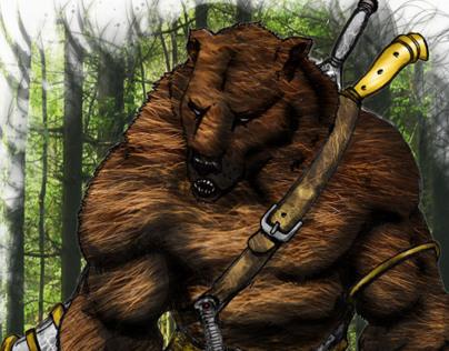 Ortuz, orso guerriero