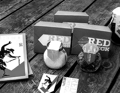 PACKAGING | Red Check Cafe