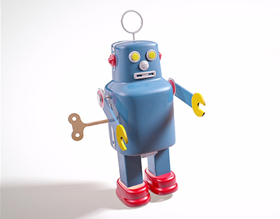 Retro Robot - Favorite Toy
