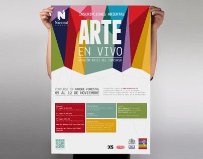 Arte en vivo 2012