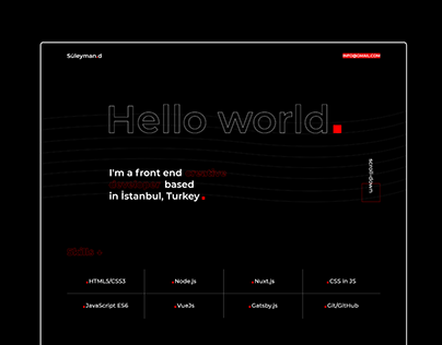 Suleymand.com - Portfolio Website