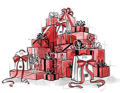 RIANI Christmas Cards