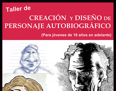 Workshop of autobiographical character design.