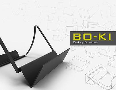 BO-KI Desktop Bookcase
