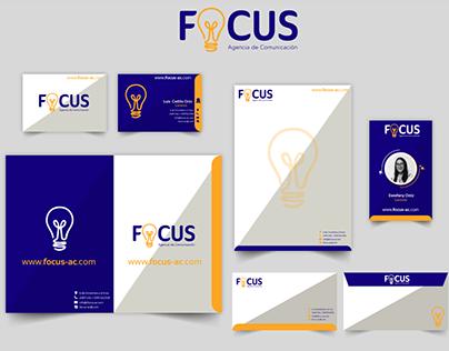 Identidad Corporativa / Focus Agencia de Comunicación