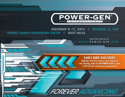 POWER-GEN INTERNATIONAL - 2014 event campaign
