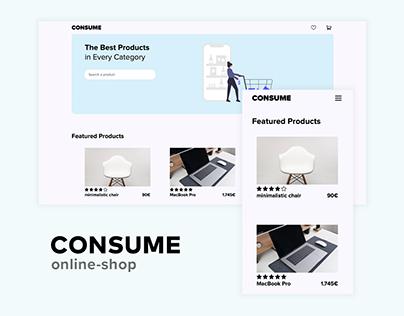 minimal online-shop