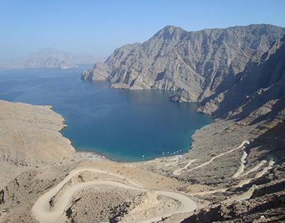 The Musandam Peninsula in Oman