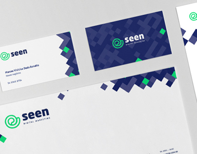 Seen Digital Logo Redesign