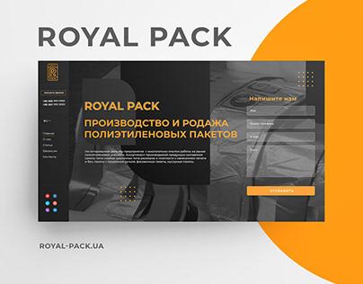 Royal Pack website
