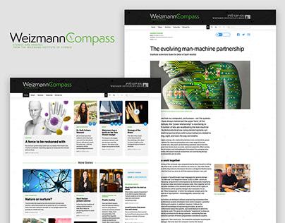 WeizmannCompass Web Magazine
