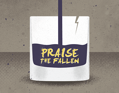 Gig Flyer: Praise the Fallen - The Harvey House