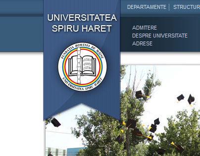 Spiru Haret University - website