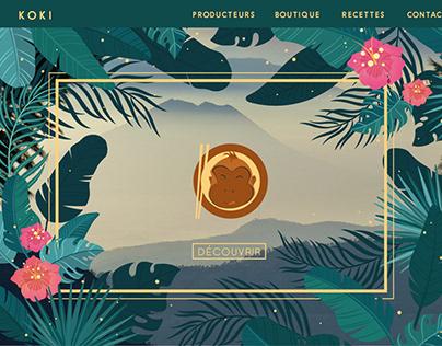 KOKI - Webdesign