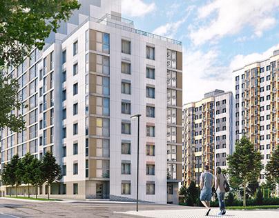 """Moskovskiy"" residential block"
