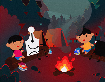CAMPING WITH PENPEN
