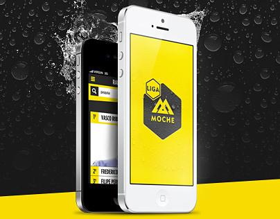 iOS App Liga Moche