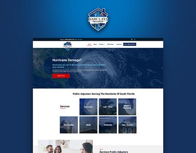 Barclays Public Adjusters   Website