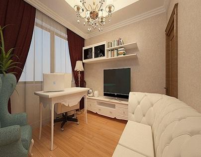 Proiect living dormitor stil clasic - Design interior