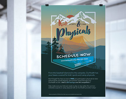 Camp Physicals Poster