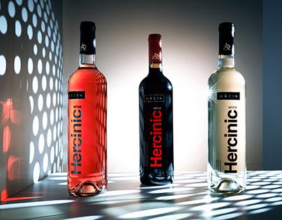Alcovin Macin new wine bottles
