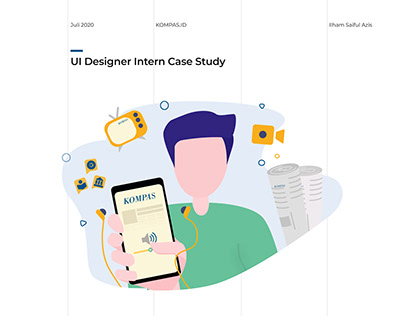 Kompas.id - UI Designer Intern Case Study