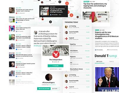 Newsdit / UX&UI
