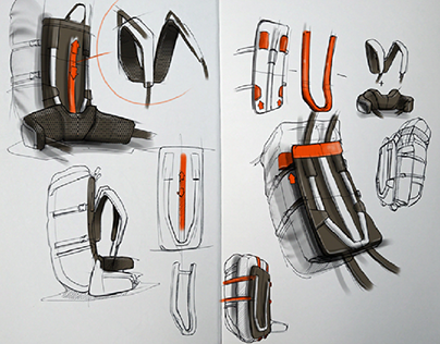 DECATHLON | Solognac Product sketches