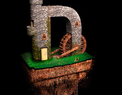 3D modeling Island