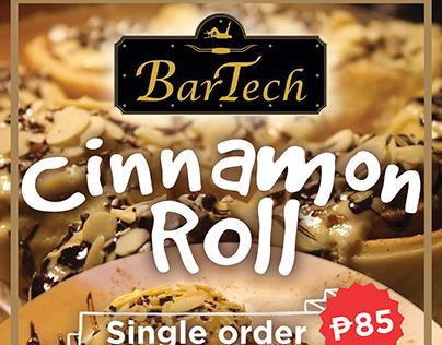 Cinnamon Roll - Poster Design