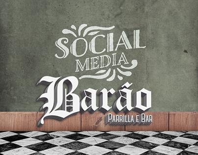 Social Media - Barão Bar e Parrilla