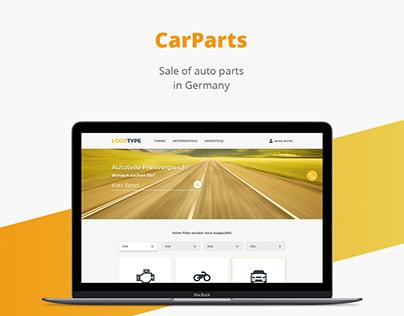 Car Parts/auto/Web design/UI/UX