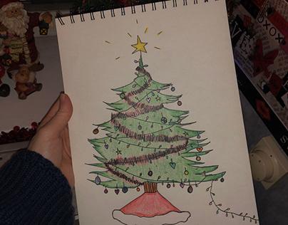 Christmas tree 🎄🎅🏻⭐️