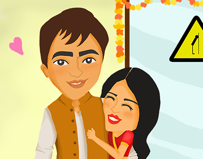 Illustration : The Great Indian Office Wedding
