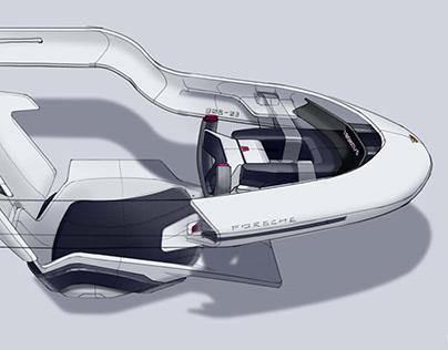 Porsche 908-03 Interior Design
