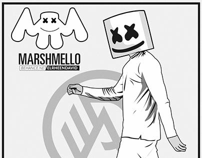 MARSHMELLO - A Monochrome Vector