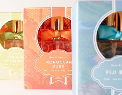flora & fauna co. Fragrance line