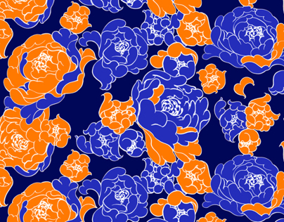 Flower Patterns and Illustrations Design