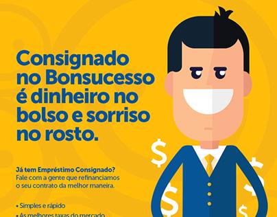 Cartaz Bonsucesso Consignado