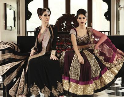 Nivedita Saboo Look Book 2013 Indian & Western Wear