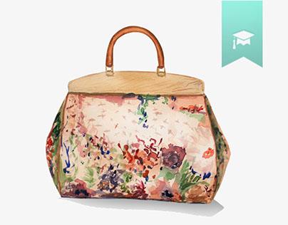 Handbags are a girl's best friend - Watercolors