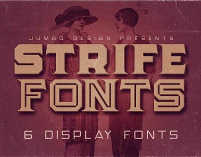 Strife - Display Font