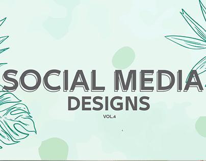 Social Media Designs vol.4