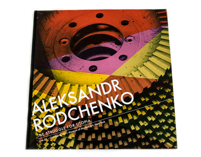 Aleksandr Rodchenko Art Exhibition Booklet