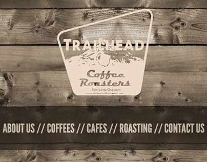 Trailhead Coffee Roasters Web Redesign