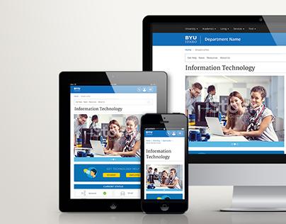 IT department website