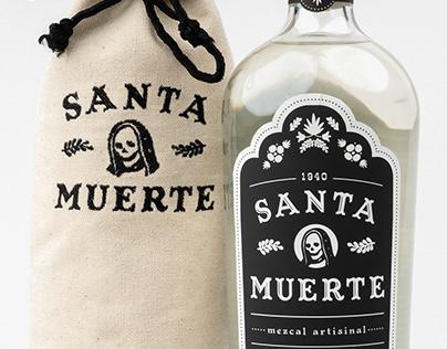Santa Muerte Mezcal Packaging