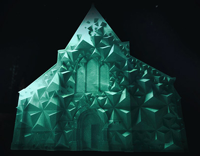 """""""ORIGAMI"""" Lights Festival in Chartres2017"""
