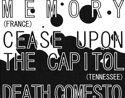 Posters for Cease Upon The Capitol